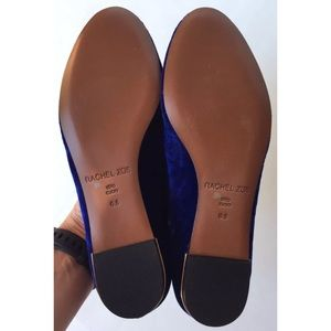 0b12e7c930f Rachel Zoe Shoes - Rachel Zoe Zahara Blue Velvet Loafers 6.5